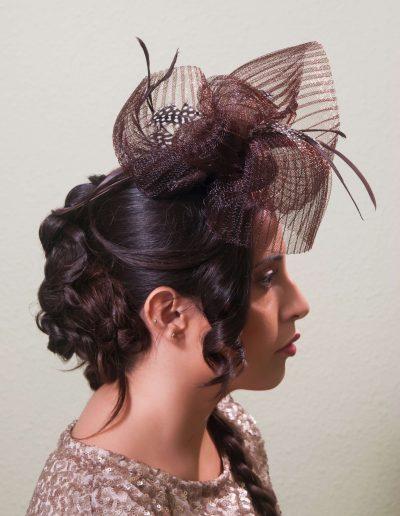 Peinados para novias e invitadas 22