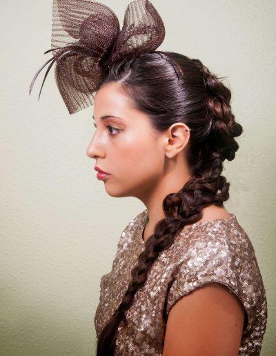 Peinados para novias e invitadas 21