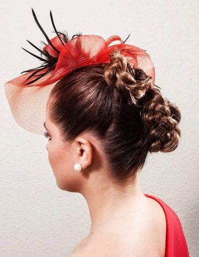 Peinados para novias e invitadas 16