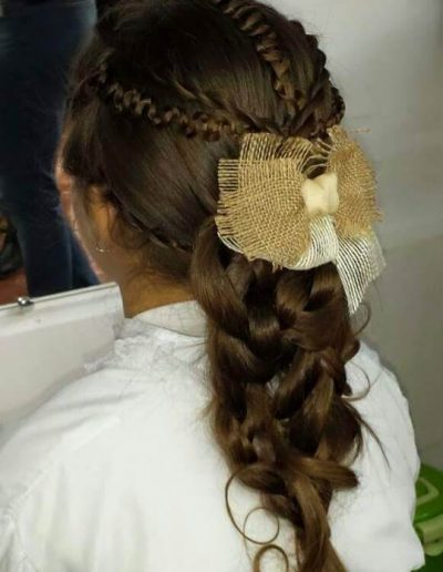 Peinados para novias e invitadas 15