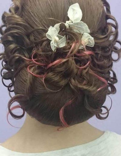 Peinados para novias e invitadas 13