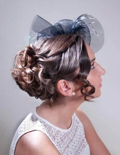Peinados para novias e invitadas 9
