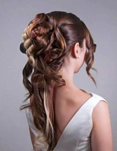 Peinados para novias e invitadas 8