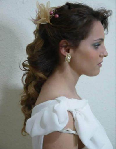 Peinados para novias e invitadas 7